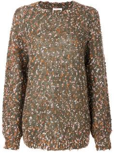 фактурный свитер Chloé