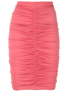 юбка с драпировкой Caliga Max Mara