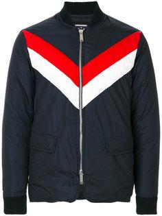 куртка-бомбер с контрастными полосками  Dsquared2
