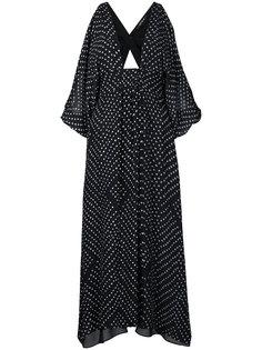 polkadot midi dress Kitx