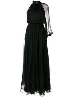 присборенное платье  Maria Lucia Hohan