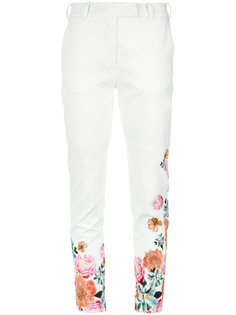 floral print trousers Isolda