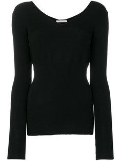 пуловер с V-образной горловиной Stefano Mortari