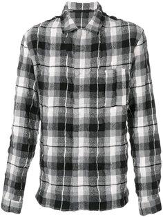 рубашка в клетку с эффектом помятости Haider Ackermann