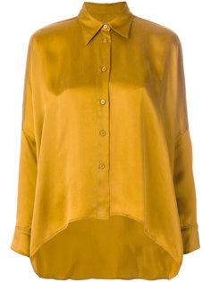асимметричная рубашка  Mm6 Maison Margiela