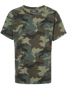 камуфляжная футболка Amiri
