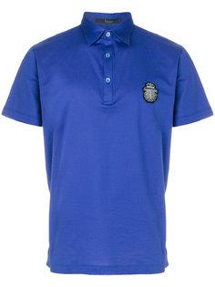 футболка-поло с вышивкой логотипа Billionaire