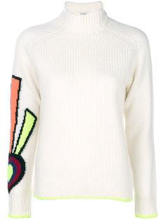 свитер с узором в виде сердца  Iceberg