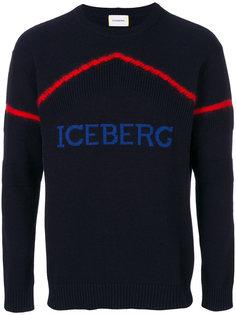 свитер с логотипом Iceberg