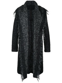 трикотажное пальто с капюшоном Forme Dexpression