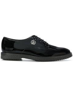 туфли на шнуровке Armani Jeans