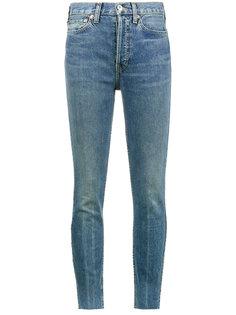 укороченные джинсы с высокой талией Re/Done