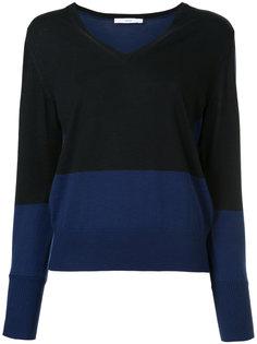 пуловер колор блок  Astraet