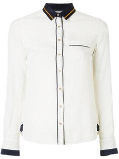 приталенная блузка с контрастной отделкой  Loveless