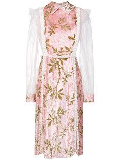 платье с кружевной отделкой  Au Jour Le Jour