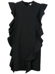 платье мини с оборками MSGM
