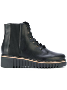 ботинки на платформе на шнуровке Loriblu