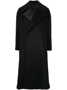 double lapel long coat The Reracs
