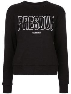Presque print sweatshirt Être Cécile