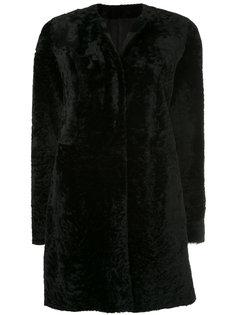 пальто миди с круглым вырезом  Drome