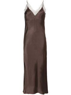 lace trim slip dress Walk Of Shame