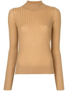 свитер-водолазка в рубчик  Forte Forte