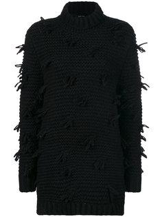 frayed knit jumper Simone Rocha