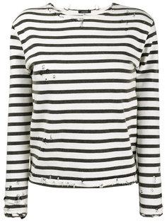 футболка с длинными рукавами в полоску  R13