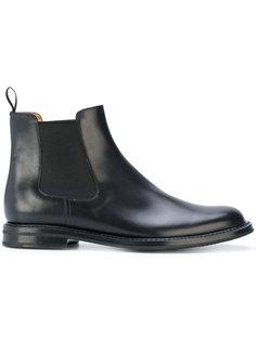 классические ботинки челси Churchs