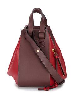 двухцветная сумка Hammock Loewe