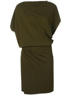 асимметричное трикотажное платье  Plein Sud