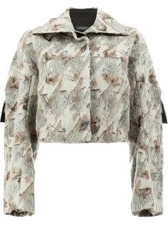 укороченная твидовая куртка  Litkovskaya