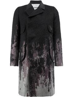 пальто с принтом Rochas
