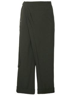 укороченные брюки с запахом IM Isola Marras