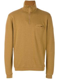 zip neck sweatshirt Universal Works