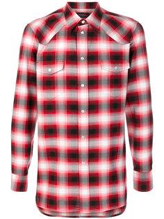 рубашка в клетку омбре Marc Jacobs