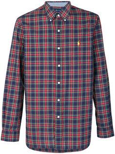 клетчатая рубашка с логотипом Polo Ralph Lauren