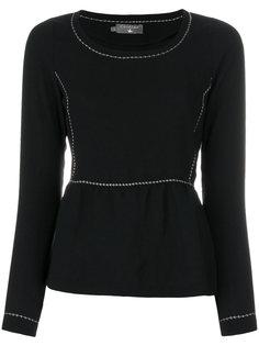 свитер с оборками Cotélac