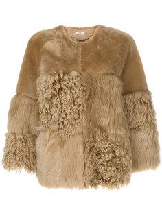 приталенная куртка с цигейкой  Desa 1972