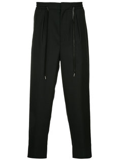 брюки с эластичным поясом monkey time