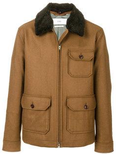 куртка с меховым воротником Closed