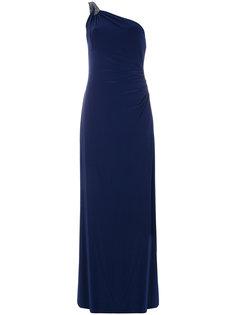 платье на одно плечо  Ralph Lauren