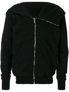 asymmetric zip up hoodie Rick Owens DRKSHDW