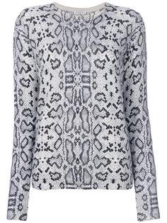 свитер с принтом Equipment
