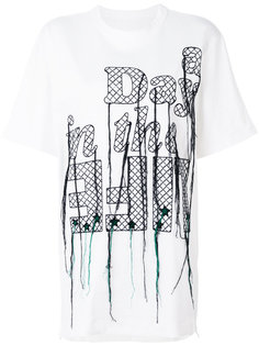 embroidered T-shirt Sacai