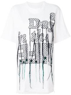 embroidered T-shirt Sacai