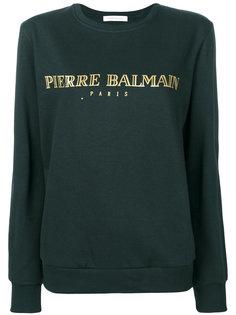 толстовка с логотипом  Pierre Balmain