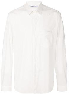 рубашка с потайной застежкой Neil Barrett
