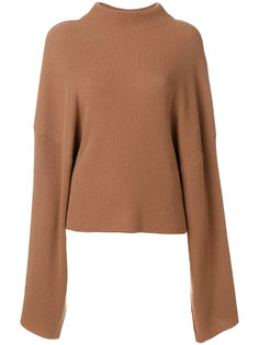 large sleeves ribbed jumper  Petar Petrov