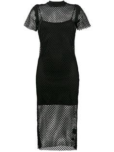 платье с сетчатой вставкой Heart Break Hotel Ksubi